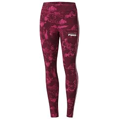Women's PUMA Rebel Allover Print High-Waisted Leggings