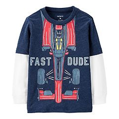 3292418b8 Boys Carter's Graphic T-Shirts Kids Long Sleeve Tops & Tees - Tops ...