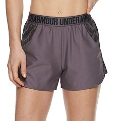 Women's Under Armour Play Up Jacquard Inset Midrise Shorts