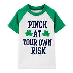 Baby Boy Carter's St. Patrick's Day Raglan Graphic Tee