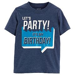 Toddler Boy Carter's 'Let's Party! It's My Birthday' Graphic Tee