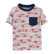Baby Boy Carter's Cars Pocket Tee