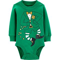 Baby Boy Carter's St. Patrick's Day Leprechaun Graphic Bodysuit