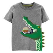 Toddler Boy Carter's Alligator Hamburger Graphic Tee