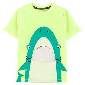 Toddler Boy Carter's Shark Interactive Tee