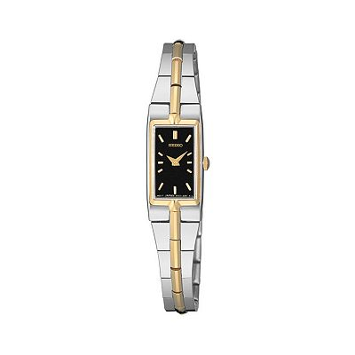 Seiko Two Tone Stainless Steel Watch - SZZC42 - Women