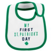"Baby Boy Carter's ""My First St. Patrick's Day"" Bib"