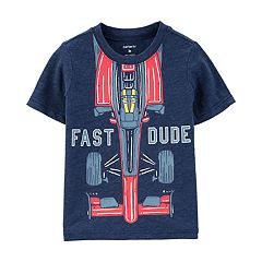 Toddler Boy Carter's 'Fast Dude' Race Car Graphic Tee