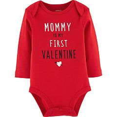 Baby Girl Carter's 'Mommy Is My First Valentine' Graphic Bodysuit