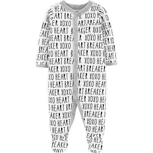 "Baby Carter's ""Heart Breaker"" Print Sleep & Play"