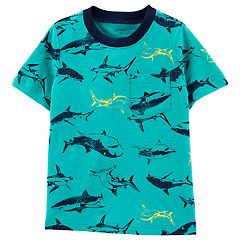 Toddler Boy Carter's Sharks Pocket Tee