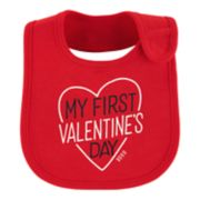 "Baby Girl Carter's ""My First Valentine's Day"" Graphic Bib"