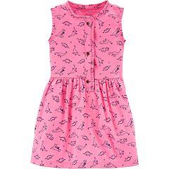 Toddler Girl Carter's Dinosaur Dress