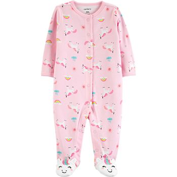 Select Baby Girl Carter's Unicorns & Rainbows Sleep & Play