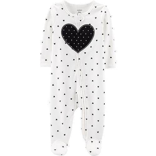 Baby Girl Carter's Heart Print Sleep & Play