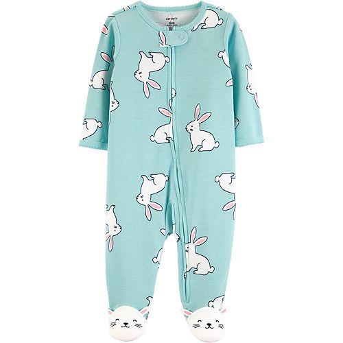Baby Girl Carter's Bunny Rabbit Sleep & Play