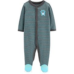 Baby Boy Carter's Striped Monster Sleep & Play