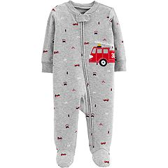 Baby Boy Carter's Firetruck Sleep & Play