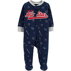 Baby Boy Carter's 'Mommy's All-Star' Football, Baseball & Basketball Sleep & Play