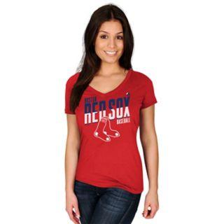 Women's Majestic Boston Red Sox Crank Up Tee