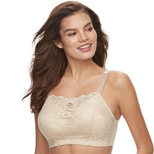4326ad8b9d1 Women s Lunaire Wirefree Cami Lace Bra 4024H