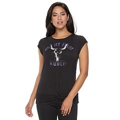 Women's Rock & Republic® 'Not My First Rodeo' Graphic Tee
