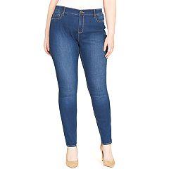 Plus Size Gloria Vanderbilt Curvy Fit Skinny Jeans