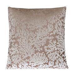 THRO by Marlo Lorenz Cara Velvet Coral Throw Pillow