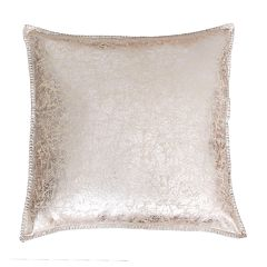 THRO by Marlo Lorenz Charlie Crackle Foil Printed Whipstitch Throw Pillow