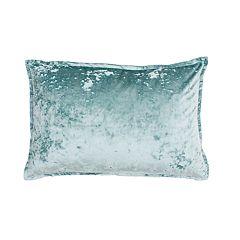 THRO by Marlo Lorenz Iliana Ice Velvet Textured Oblong Throw Pillow