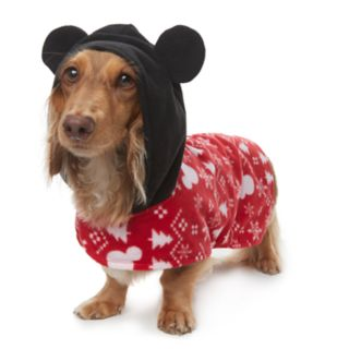 Disney's Mickey Mouse Pet Microfleece Bodysuit by Jammies For Your Families