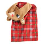Pet Jammies For Your Families Rudolph the Red-Nosed Reindeer Microfleece Bodysuit