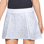 Women's Under Armour Links Printed Golf Skort