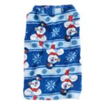 Pet Jammies For Your Families Frosty the Snowman Microfleece Bodysuit