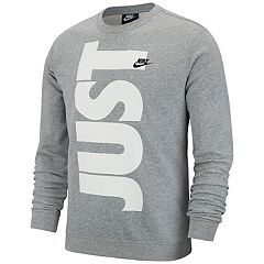 Men's Nike French Terry 'Just Do It' Top