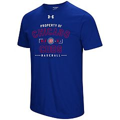 Men's Under Armour Chicago Cubs Heat Gear Crushed It Tee