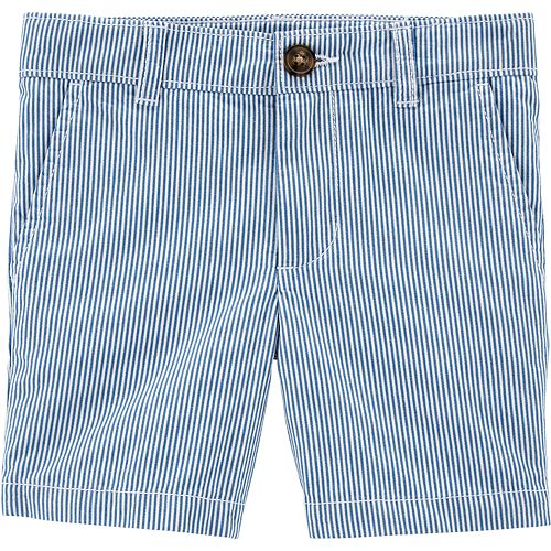 Toddler Boy Carter's Flat Front Striped Shorts
