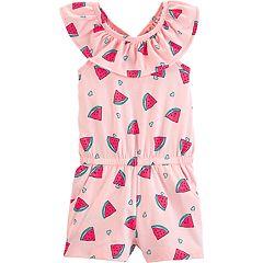 Toddler Girl Carter's Watermelon Romper