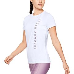 Women's Under Armour Tech Wordmark Graphic Short Sleeve Tee