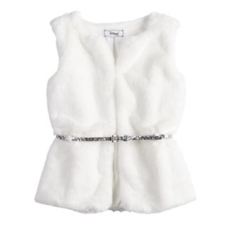 Girls 7-16 Disney D-Signed Faux-Fur Vest