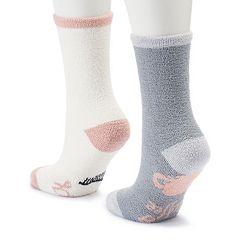 LC Lauren Conrad 2-Pack Graphic Crew Socks