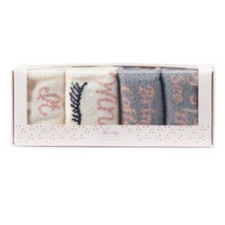 LC Lauren Conrad 2-Pack Graphic Crew Socks