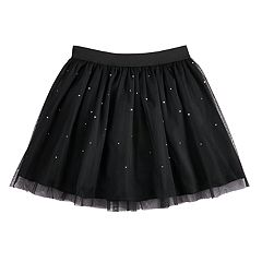 Girls 7-16 Disney D-Signed Rhinestone Tulle Skirt
