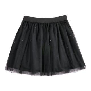 Girls 7-16 Disney D-Signed Rhinestone Tulle Skirt