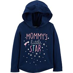 Baby Girl Carter's 'Mommy's Little Star' Hoodie