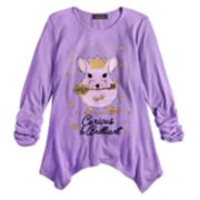 Girls 7-16 Disney D-Signed Mouse Top