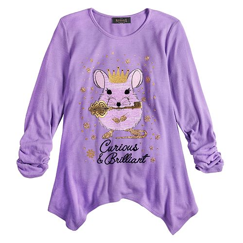 Girls 7-16 Disney D-Signed The Nutcracker and the Four Realms Mouse Top