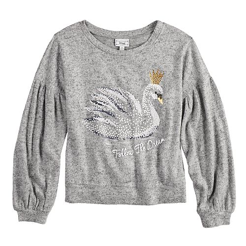 Girls 7-16 Disney D-Signed The Nutcracker and the Four Realms Swan Sweatshirt