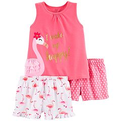 1bcd587158ae Girls 4-14 Carter's Tank Top & Shorts Pajama Set