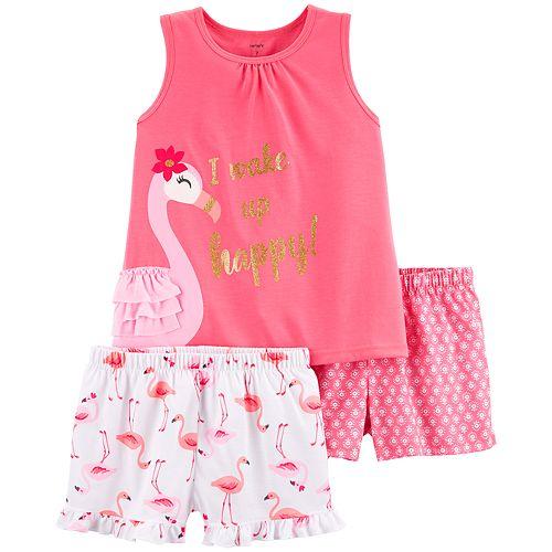 Girls 4-14 Carter's Tank Top & Shorts Pajama Set
